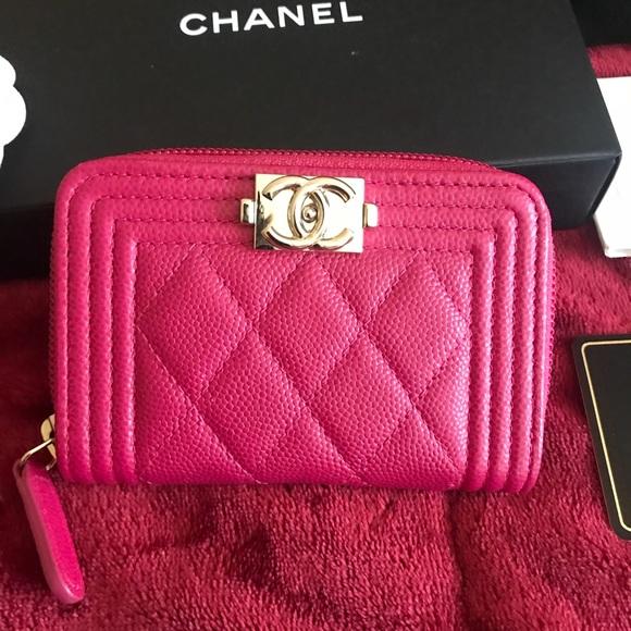 c14dc67296cb Chanel O-Coin wallet in FUCHSIA!! Boy style